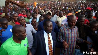 Kenia Wahlwiederholung Raila Odinga