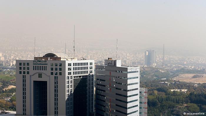 Iran Luftverschmutzung in Teheran (mizanonline)