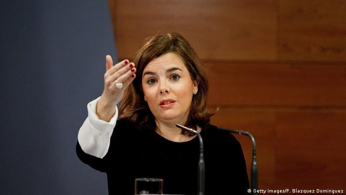 Spanien | Soraya Saenz de Santamaria (Getty Images/P. Blazquez Dominguez)