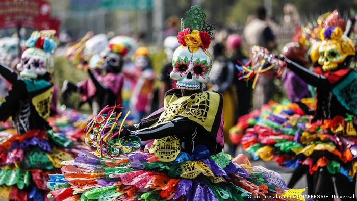 Mexico City Honors Earthquake Victims In Day Of The Dead
