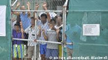 Australien - Flüchtlinge auf Manus Island 2014