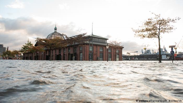 Flooded Hamburg