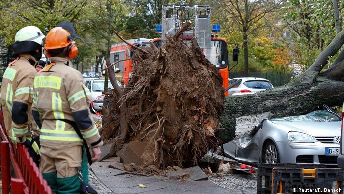 Ураган Герварт у Берліні
