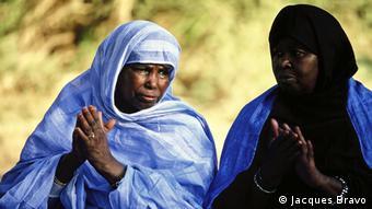 Marokko maurische Ethnie der Sahrawis