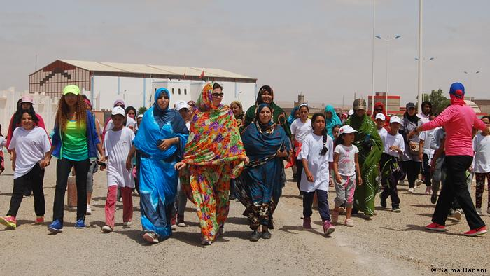 Marokko Frauen Sport
