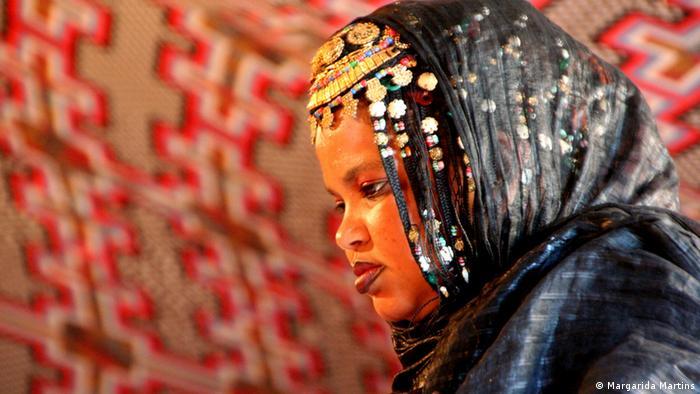 Marokko Braut in der Wüste