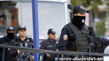 Türkei Polizei in Ankara