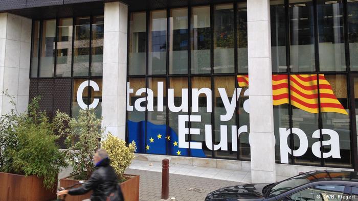 Belgien Gebäude der Vertretung Kataloniens bei der Europäischen Kommission