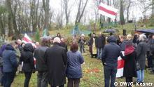 Weißrussland Gedenken an die Opfer des Stalinismus