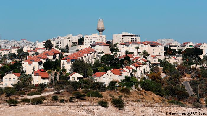 The Israeli settlement of Maale Adumim in the West Bank in October 2017.