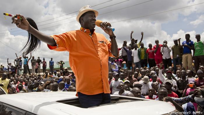 Raila Odinga (picture-alliance/dpa/D. Bandic)