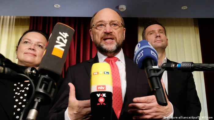 Regionalkonferenz der SPD Martin Schulz