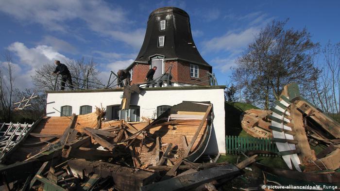 Герварт пошкодив історичний млин в Олденсворті