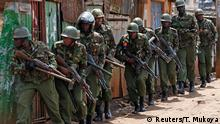Kenia Wahlwiederholung Ausschreitungen Sicherheitskräfte