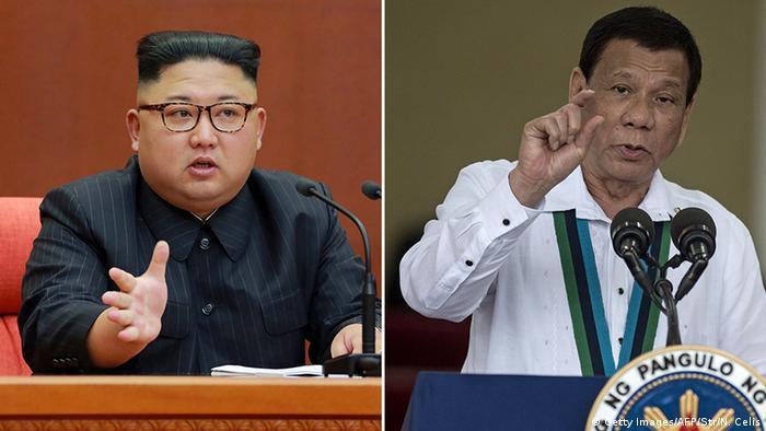 Kim Jong Un and Rodrigo Duterte