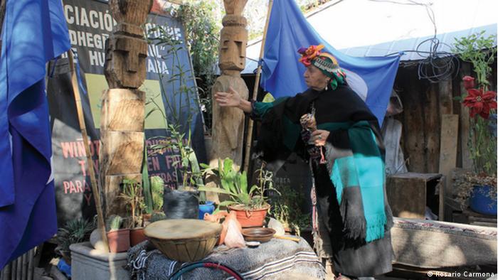 Chile indigenes Volk der Mapuche (Rosario Carmona)