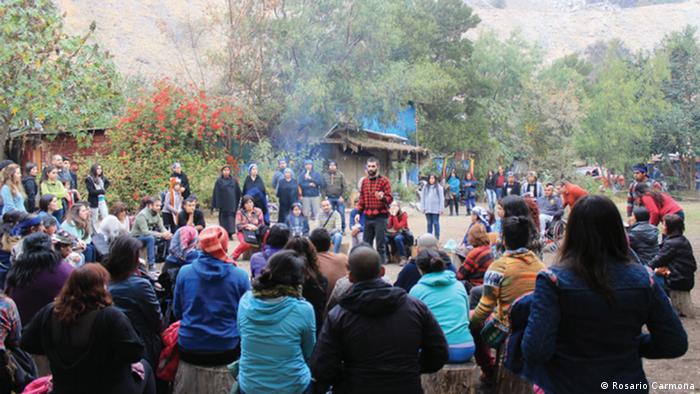 Chile indigenes Volk der Mapuche