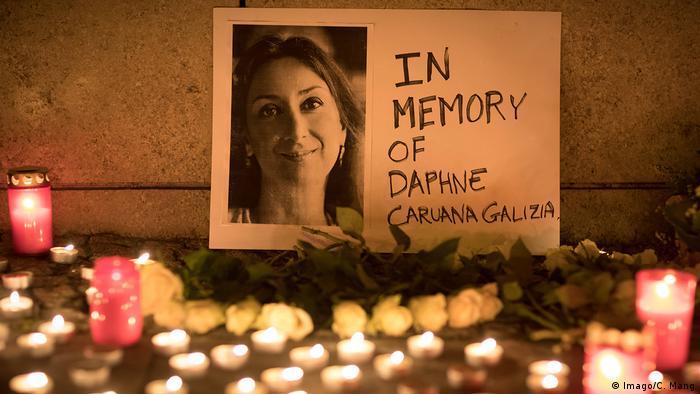 Berlin Mahnwache Daphne Caruana Galizia Malta Journalistin