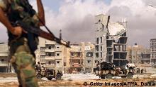 Libyen Bengasi Libyan National Army LNA Soldaten