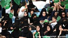 Saudi Arabien - Nationalfeiertagszeremonien im King Fahd Stadion in Riad (Getty Images/AFP/F. Nureldine)