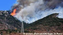 Waldbrände in Italien - Susatal