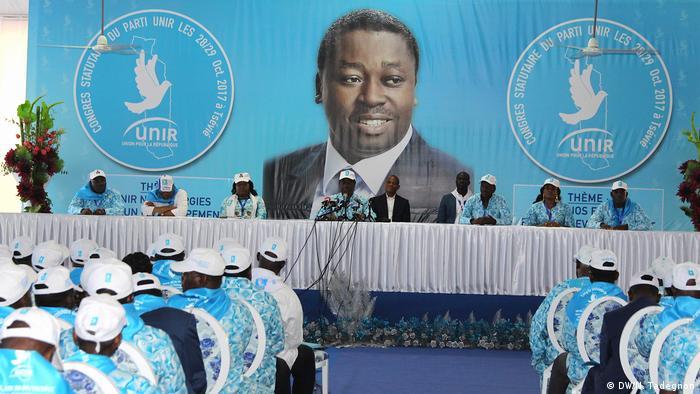 Togo Union Pour la République UNIR (DW/N. Tadegnon)