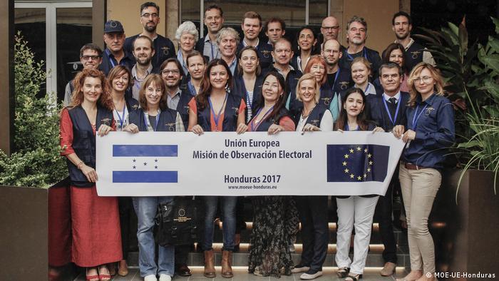 Comisión de observadores de la UE de las elecciones en Honduras 2017