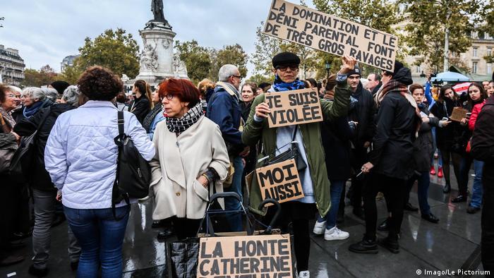 Frankreich Proteste gegen Sexuelle Belästigung (Imago/Le Pictorium)