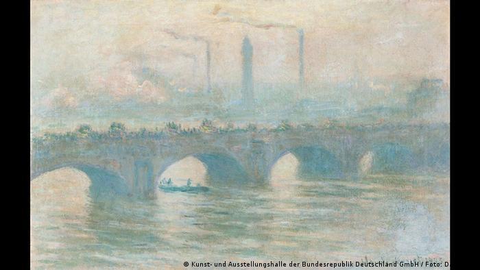 Claude Monet - Waterloo Bridge (Kunst- und Ausstellungshalle der Bundesrepublik Deutschland GmbH / Foto: David Ertl)