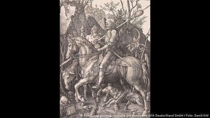 Albrecht Dürer- Ritter, Tod und Teufel (Kunst- und Ausstellungshalle der Bundesrepublik Deutschland GmbH / Foto: David Ertl)