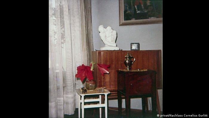 Historic photo of Gurlitt's apartment (privat/Nachlass Cornelius Gurlitt)