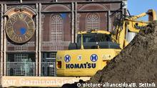 Deutschland Wiederaufbau der Garnisonkirche in Potsdam