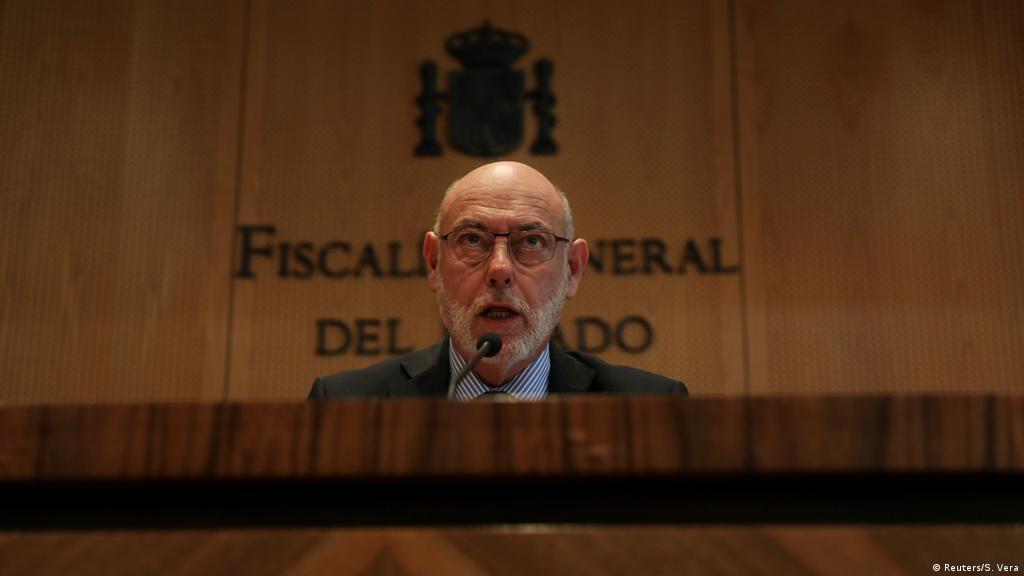 Jose Manuel Maza, Spanish prosecutor leading case against