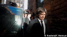 Spanien Staatsanwaltschaft erhebt Anklage gegen Puigdemont