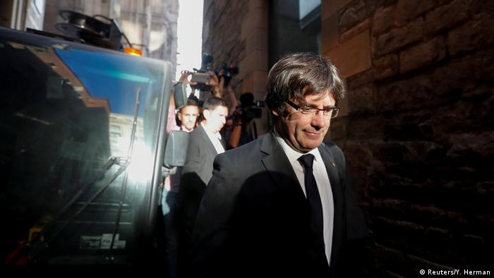 Spain issues warrant for deposed Catalonia leader