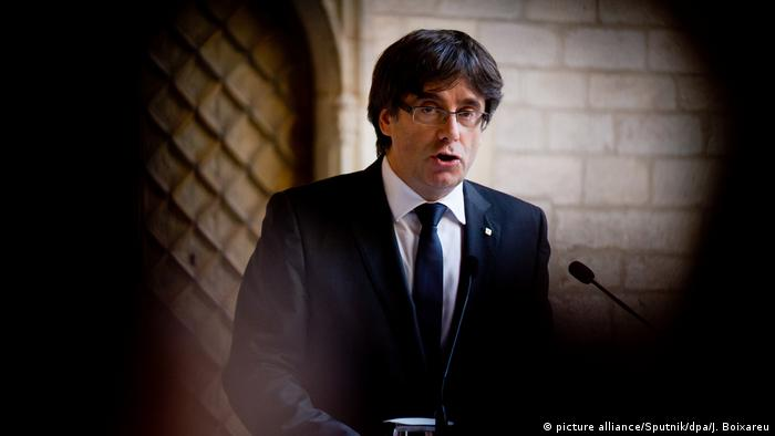 Catalan president Carles Puigdemont could face several years behind bars