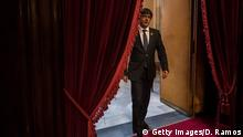 BARCELONA, SPAIN - OCTOBER 27, 2017 Catalan President Carles Puigdemont arrives at the Catalan Parliament on October 27, 2017 in Barcelona, Spain. MPs in the Catalan parliament have today voted following a two days session on how to respond to the Spanish governments enacting of Article 155, which would curtail Catalan autonomy. (Photo by David Ramos/Getty Images)