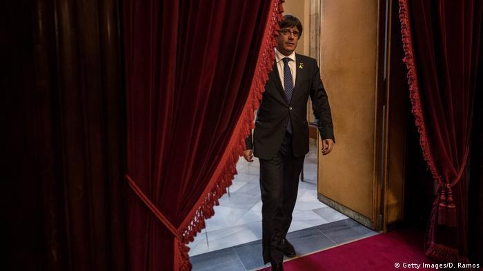 Spanien Staatsanwaltschaft erhebt Anklage gegen Puigdemont (Getty Images/D. Ramos)