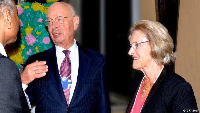 Klaus und Hilde Schwab