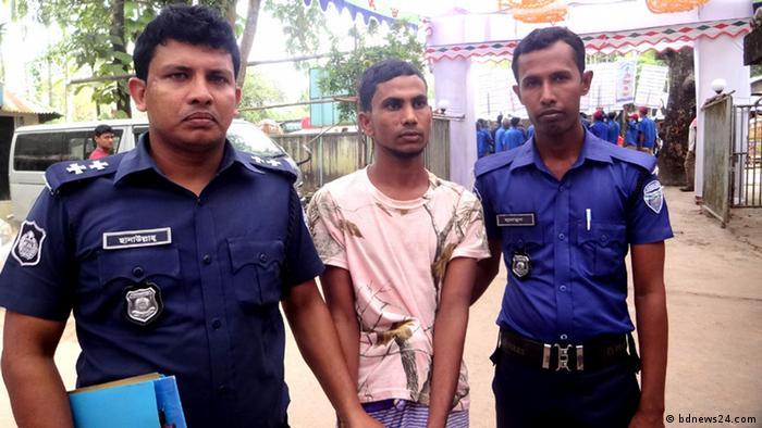 Bangladesch Attacke von Rohingya-Flüchtlinge (bdnews24.com)