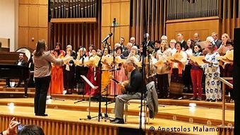 Η Διεθνής Χορωδία της DW τραγουδά την Άρνηση