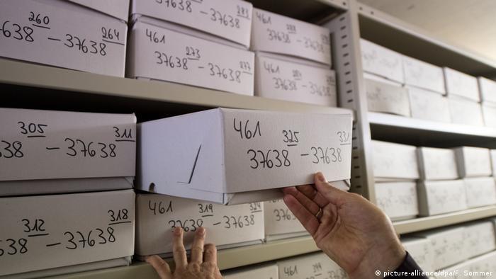 Deutschland Unterlagen Frankfurter Auschwitz-Prozess