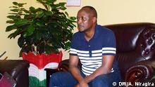 Gaston SINDIMWO, Vize-Präsident von Burundi. (c) DW/Antéditeste Niragira