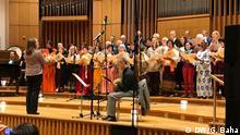 +++Nur im Rahmen der abgesprochenen Berichterstattung zu verwenden!+++ Konzert vom Samstag, 28.10 mit Liedern von Mikis Theodorakis. (c) DW/G. Baha