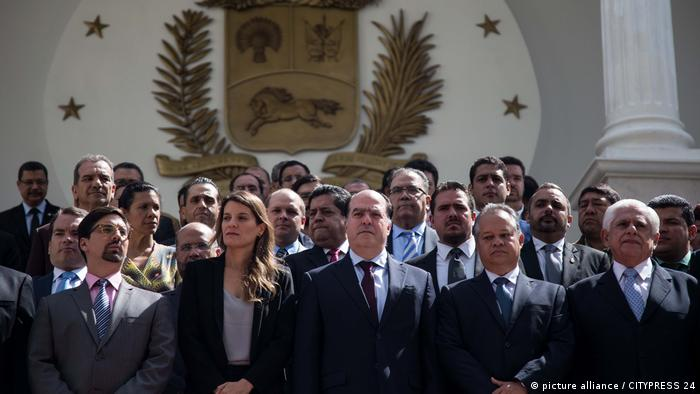 Venezuela Unabhängigkeitstag Opposition (picture alliance / CITYPRESS 24)