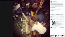 Facebook Post Stolpersteine Stolperschwelle Pestalozzi-Schule Buenos Aires