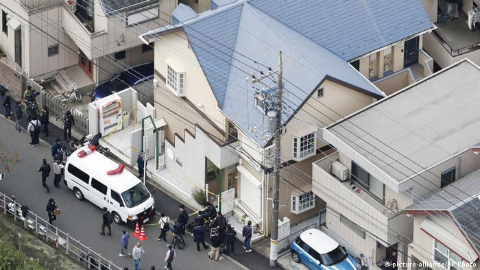 Japan Leichenfund in Tokio