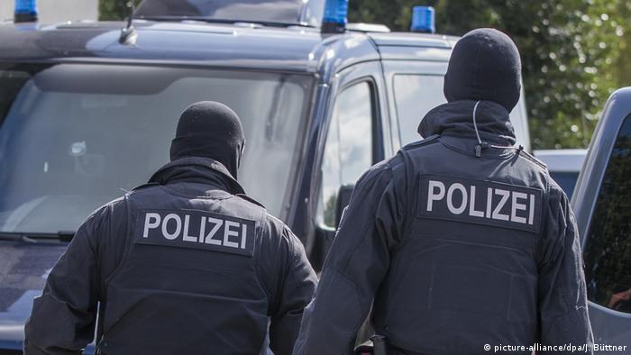 Deutschland Polizeieinsatz in Mecklenburg-Vorpommern
