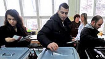 Mazedonien Wahlen 2009