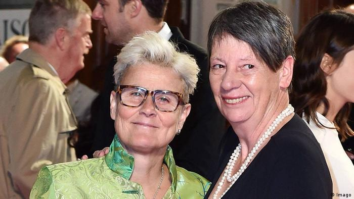 Барбара Хендрикс с женой